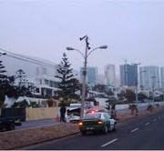 Lanzan campaña para prevenir  choques contra postes de alumbrado público