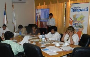 "En Pozo Almonte continuaron talleres ""Tarapacá Región Piloto de Descentralización"""