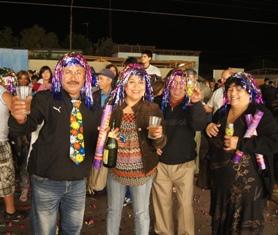 Pica y Matilla también celebraron en grande llegada del 2012