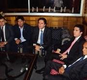 Alcaldes de zona minera se reúnen en Huara para seguir luchando por recibir 10% de tributación minera