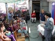 Seremi de Gobierno dialoga con pobladores de caletas en Chanavaya
