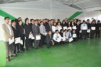 62 jóvenes egresaron de programa Formación en Puesto de Trabajo para la minería