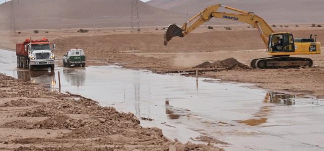 77 familias de Provincia del Tamarugal afectadas por lluvias del invierno altiplánico