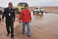 Por mal tiempo cierran ruta Huara -Colchane