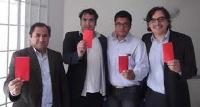 Dirigentes del Partido Progresista de Iquique se suman a protesta en contra del sistema de recolección de basura