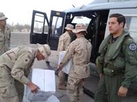 Ejército y Fuerza Aérea realizan operativo conjunto de ayuda a Huatacondo