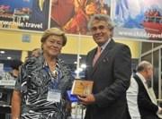 Alcaldesa  buscó posicionar Iquique en Feria de Cruceros en Miami
