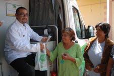 Primera farmacia móvil para la comunidad de Huara