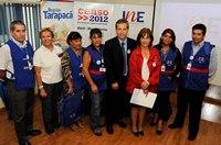 Intendenta de Tarapacá y director regional del INE lanzan el CENSO 2012