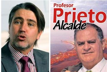 Fulvio Rossi da respaldarazo a Francisco Prieto como candidato a alcalde de Iquique