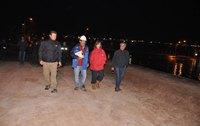 Realizan fiscalización nocturna a lagunas de estabilización en El Boro