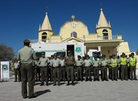 Carabineros realiza positivo balance de Servicios en La Tirana