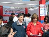 Con baja participación cierran modalidad de stand en Consulta Ciudadana del MOP en Tarapacá