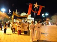 Procesión con el Santísimo Sacramento marcó la clausura de la Fiesta de La Tirana 2012