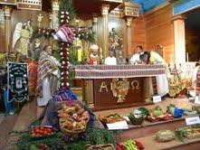 Misa Andina en festividad  La Tirana, incorpora cultura ancestral