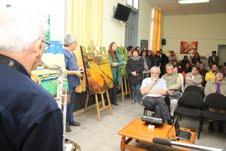 Víctimas de la represión asociadas a programa PRAIS, inauguran Biblioteca y exposición de Pintura
