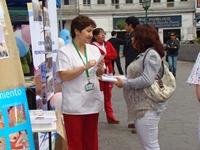 En Feria de Salud difunden beneficios de la Lactancia Materna
