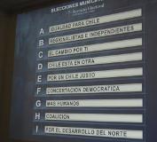 Servel sorteó orden de coaliciones en célula electoral para municipales 2012
