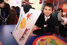 Con concurso de pintura Teletón promueve derechos de niños con discapacidad
