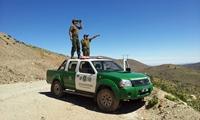 Finalmente Carabineros y la FACH rescataron a geólogos extraviados en Quebrada de Aromo