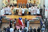 """Monseñor Prado Aránguiz afirmó en Te Deum: """"El país sólo se construye en el amor"""""""