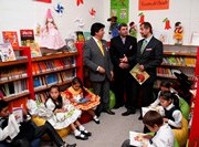 Inauguran modernas  bibliotecas en Escuelas de Matilla y  Pica