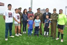 Deportes Iquique se suma a actividades de no más violencia en el pololeo