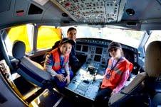 Niños de la Red Sename realizaron vuelo de conocimiento entre Iquique y Santiago