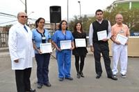 """Con reconocimientos a funcionarios y actividades recreativas celebran el """"Día del Hospital"""" en Iquique"""