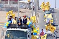 Multitudinaria caravana en apoyo a Ramón Galleguillos en Alto Hospicio
