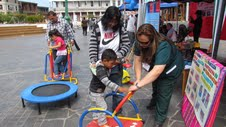 Padres conocieron oferta de matrícula en Feria de la Primera Infancia