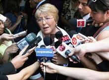 """Michelle Bachelet: """"Vamos a hablar en marzo"""" e insistió que seguirá en ONU Mujer"""