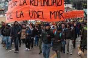 Estudiantes de la Universidad del Mar piden su estatización