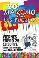 Cumbre de los Pueblos 2013 convoca el 25 de enero a marcha