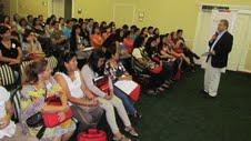 Masiva jornada de capacitación pedagógica para 77 profesores de inglés