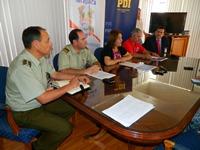 Gobierno Regional destaca disminución de delitos de mayor connotación social en Tarapacá