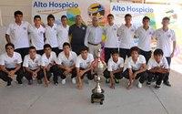 Jóvenes de Alto Hospicio obtienen vice campeonato en torneo de fútbol en Perú