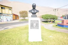 Nuevamente está en su lugar, busto de ex presidente Salvador Allende