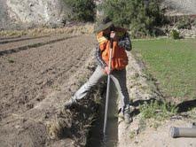 Levantan catastro y realizan estado y situación de canales de riego en la Región