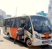 Bús gratuito para trabajadores de Zona Franca. Horario de atención al público, hasta las 19.30 hrs.