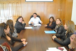 Dialogo sobre Reforma Educacional sostuvieron directoras de Escuelas de Lenguaje con Gobernador Prieto