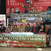 Hoy es la marcha contra el proyecto minero Paguanta. Multisindical convoca a acto de protesta
