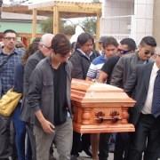 Funeral a la iquiqueña con banda y caminata al camposanto, para Edgardo Barría, Barry