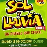 """""""Sol y Lluvia"""" celebra en Iquique sus 35 años de trayectoria artística y compromiso social"""