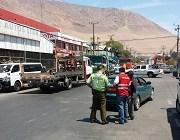 Retiran 47 vehículos mal estacionados en operativo realizado en Barrio Industrial Zofri