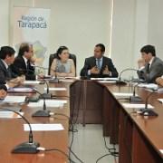 Cinco Ministros en Iquique para dar el vamos a Plan Regional de Infraestructura Urbana y Territorial