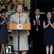 El Morro y Paseo Baquedano están incluidos en programa Barrios Comerciales, anunció Bachelet