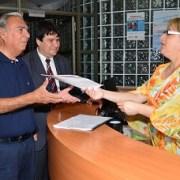 Alcalde Jorge Soria interpuso denuncia ante la Fiscalía por incendio de la Ex Aduana