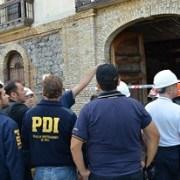 Empadronarán a todos los posibles testigos que vieron inicio del incendio de ex Aduana de Iquique