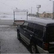 Cierran paso fronterizo de Colchane por caída de nieve y condiciones de maltiempo